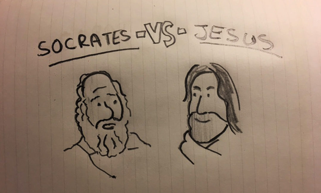 socrates and jesus Recommended books on socrates:  in this lecture we examine the ideas of socrates  socrates meets jesus - duration:.